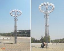 太阳能路灯厂家和您聊聊高杆灯整套配置